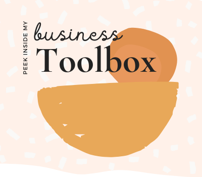 peek inside my business toolbox