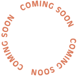 coming soon round text