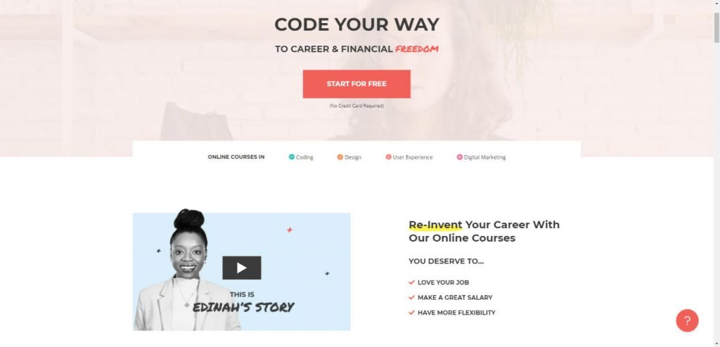 Skillcrush Learn to code Land the job Change your life