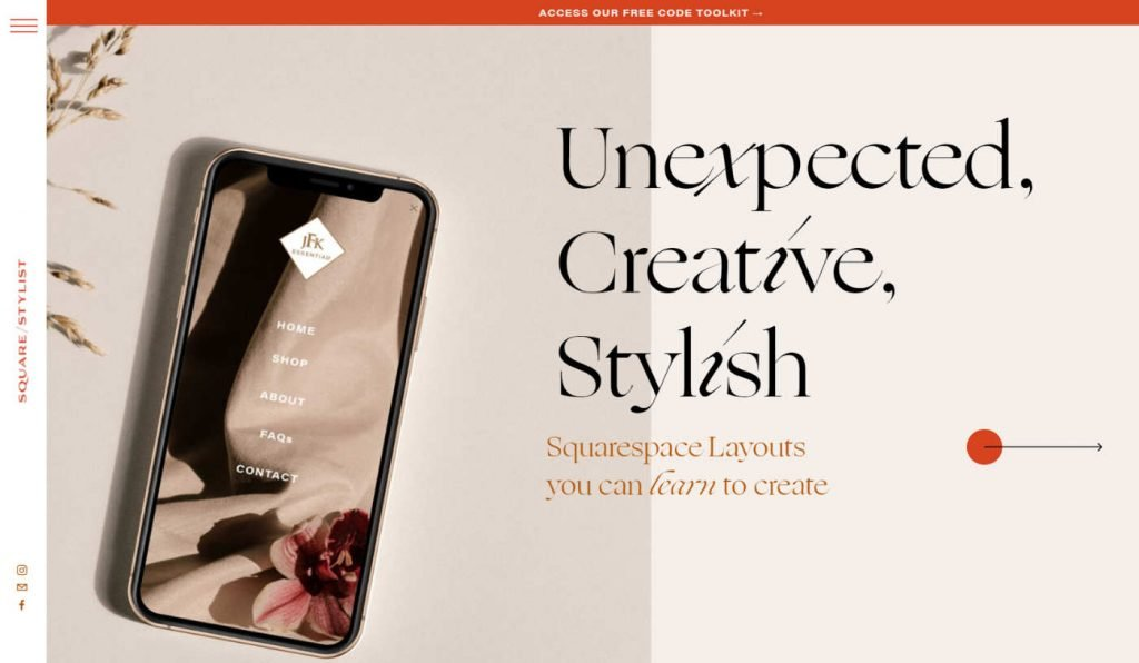 Squarestylist best css training for squarespace