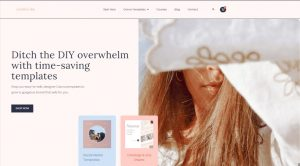 Creative Day's new homepage redesign