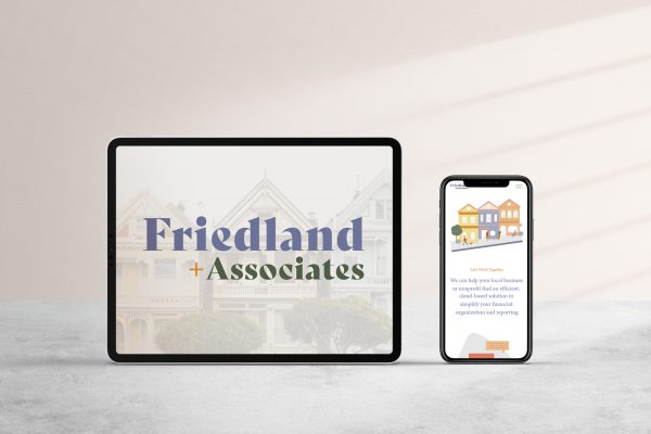 Friedland and Associates ipad and iphone mockup